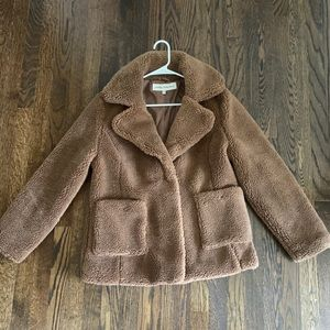 Debby Collection Teddy Coat - Size M
